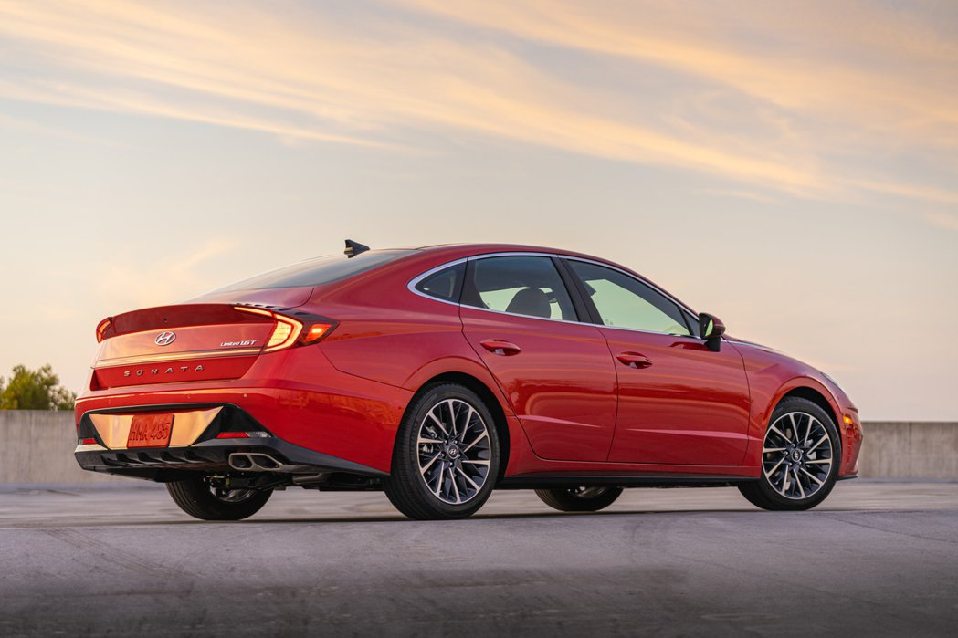 全新第八代Hyundai Sonata。圖為美規車型。 摘自Hyundai