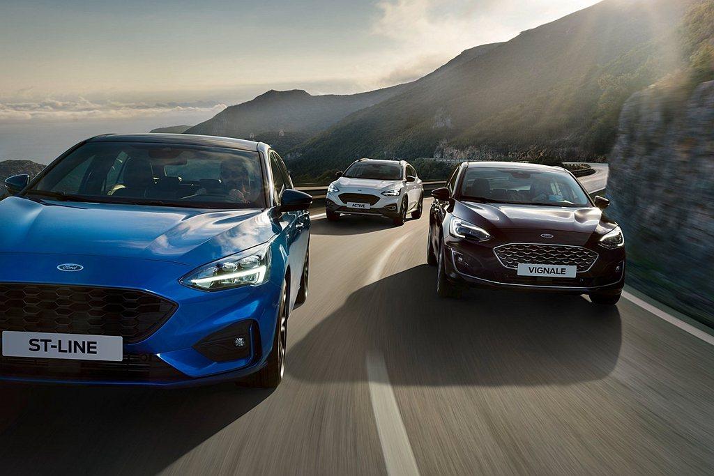 全新第四代Ford Focus於歐洲地區銷售表現出色,再推出特殊車型搶占市場。 ...