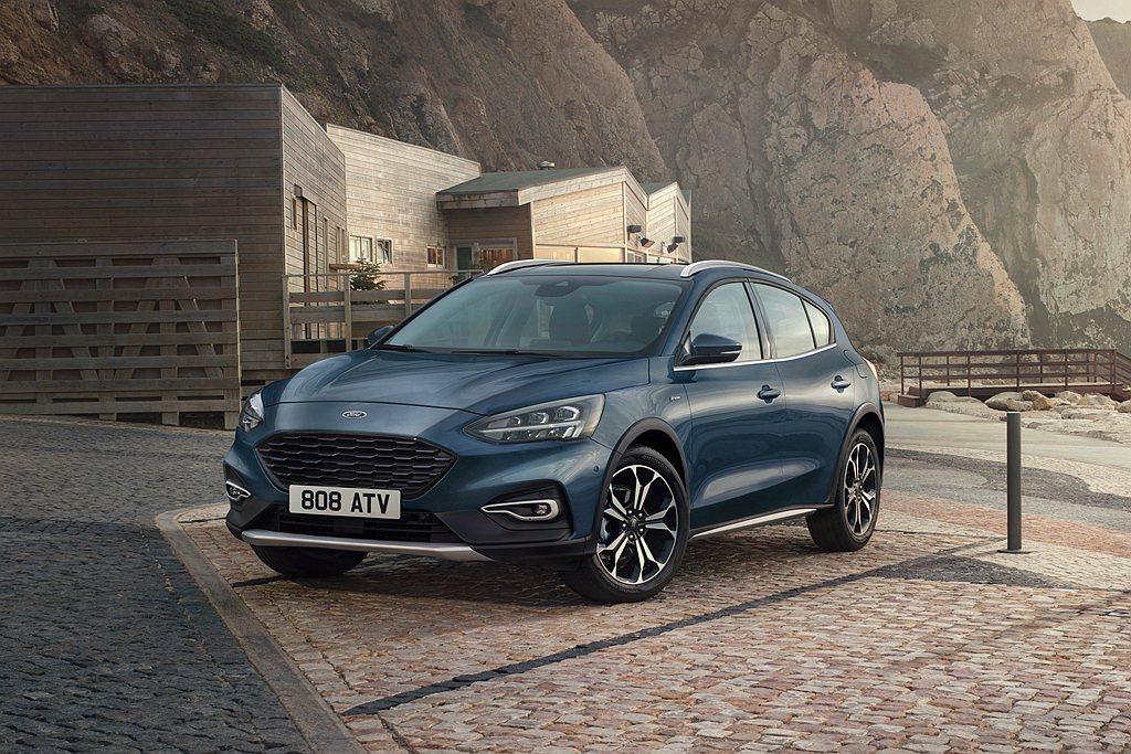 歐洲Ford汽車宣布追加Focus Active X Vignale,特點在於結...