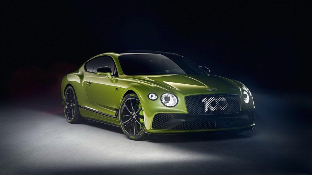 Bentley推出僅15輛的Continental GT派克峰限量紀念版。 圖/...
