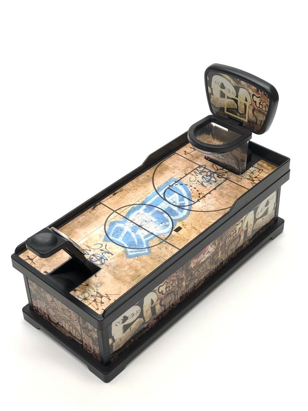 訓練手指技巧的投籃存錢筒。 圖/野蜂國際開發有限公司 提供