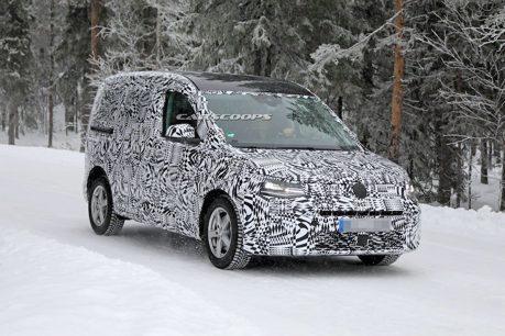 大改款Volkswagen Caddy 雪地偽裝測試中!