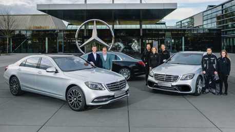 Mercedes-Benz S-Class再創新里程碑 現售車款生產突破50萬輛