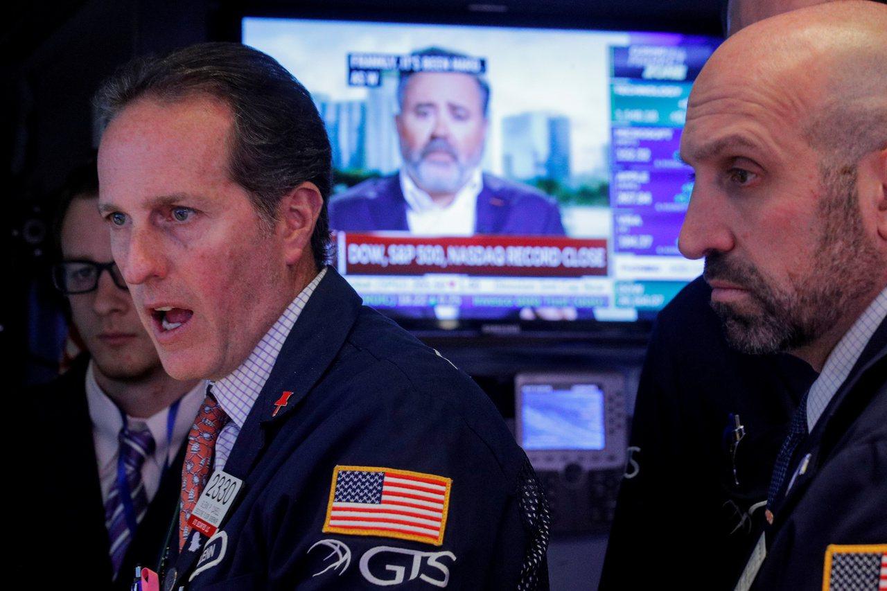 貿易形勢緩解的希望受到打擊,令美股周二重挫。 美聯社