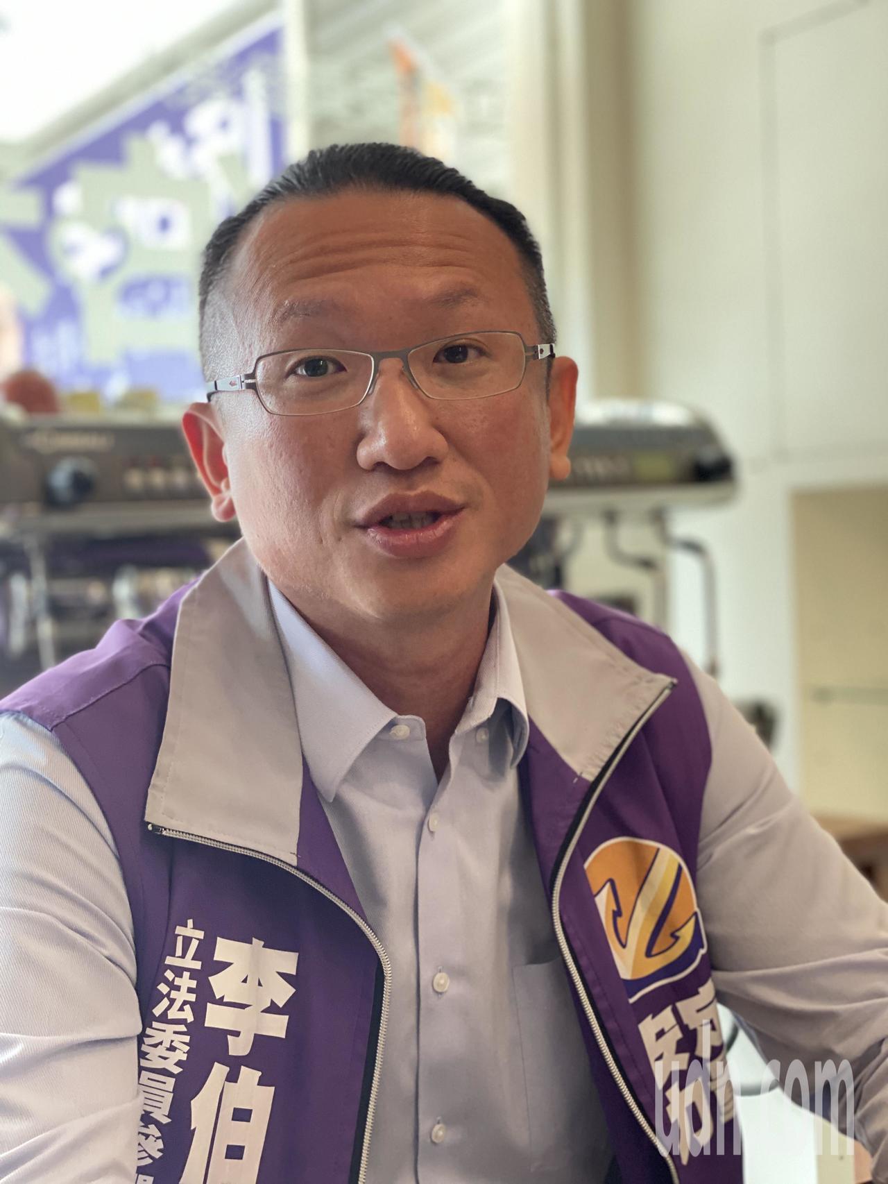 安定力量推舉參選台南市第5選區立委的李伯利。記者修瑞瑩/攝影