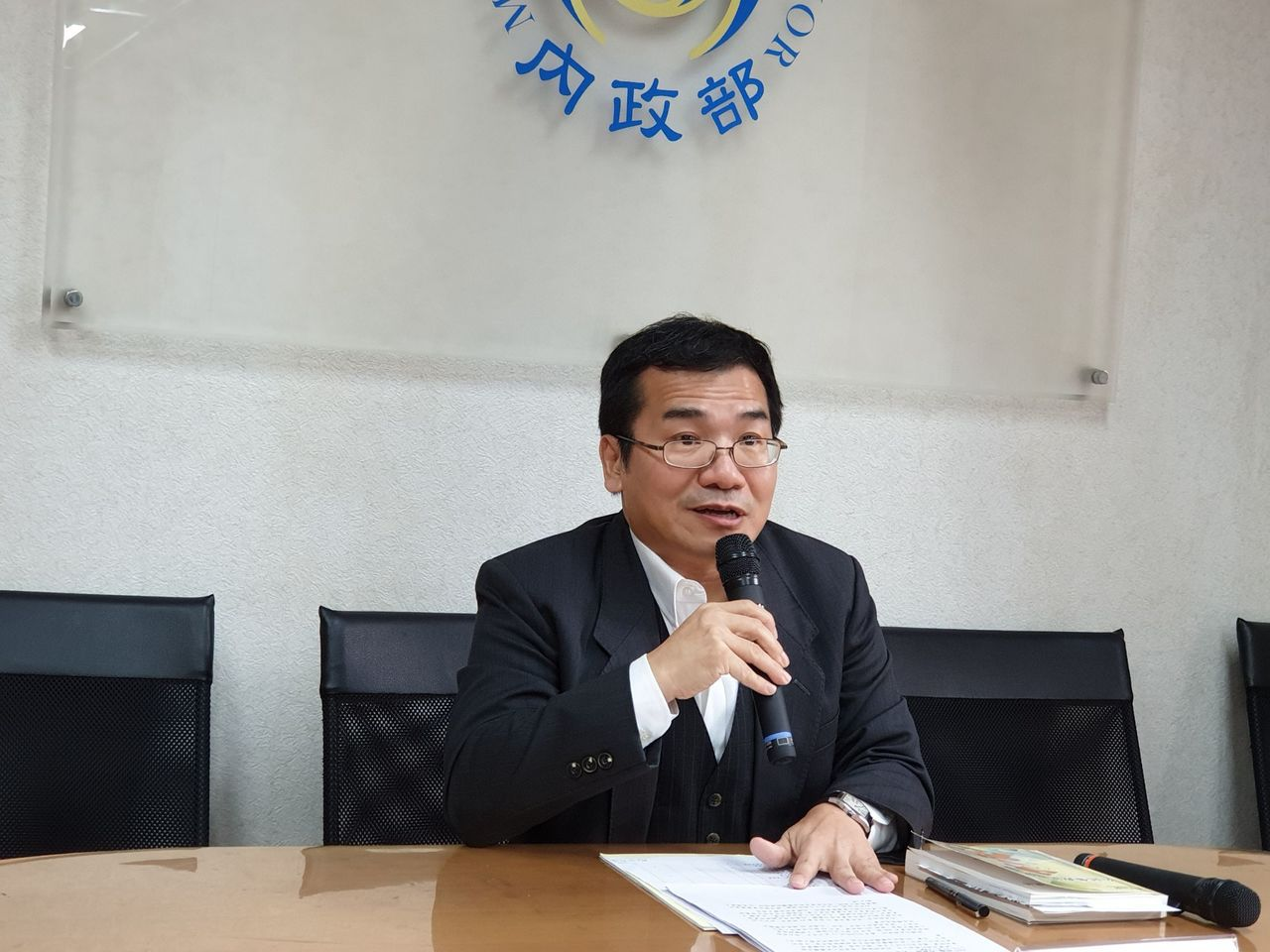內政部民政司副司長鄭英弘(圖/內政部提供)