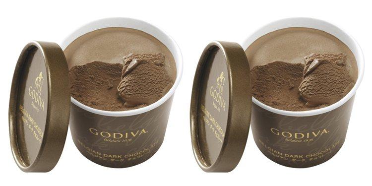 「比利時黑巧克力」售價200元。圖/GODIVA提供
