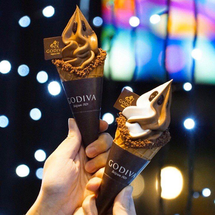 12/7至12/8限時兩天,GODIVA冰品買一送一。圖/GODIVA提供
