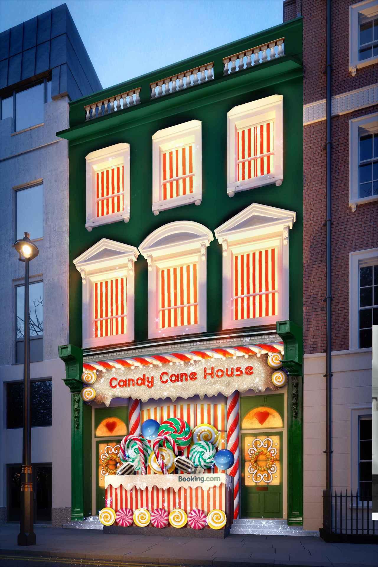 在倫敦Soho精華地段區有座名符其實的「糖果屋」。圖/Booking.com提供