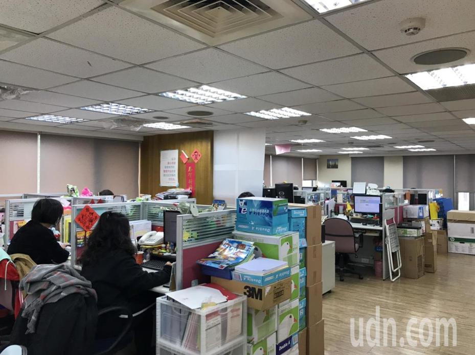 兒福聯盟目前的辦公室。記者潘乃欣/攝影