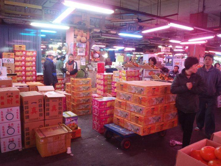 新北市三重果菜市場可能易地重建。圖/新北果菜公司提供