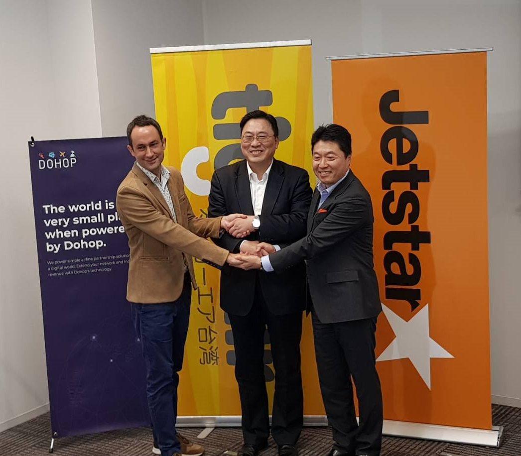 捷星集團與台灣虎航開啟虛擬聯程合作,連接亞太更多航點。圖/台灣虎航提供
