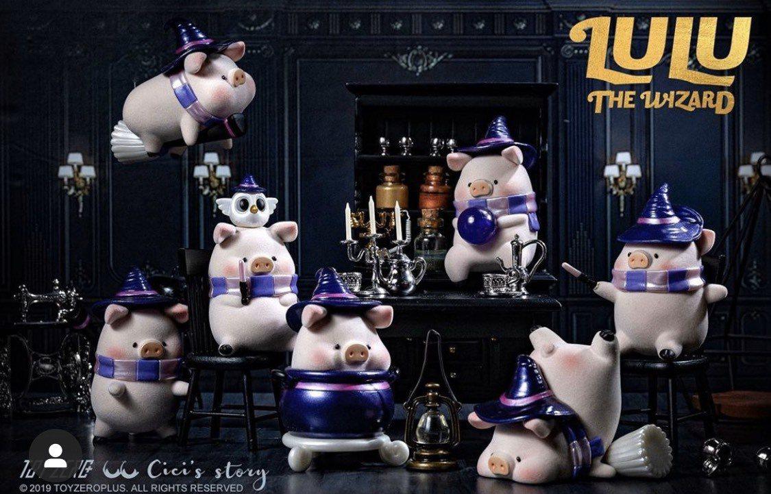 呆萌「魔法學園LuLu」公仔,成為辦公室最夯療癒小物。圖/取自 toyzerop...