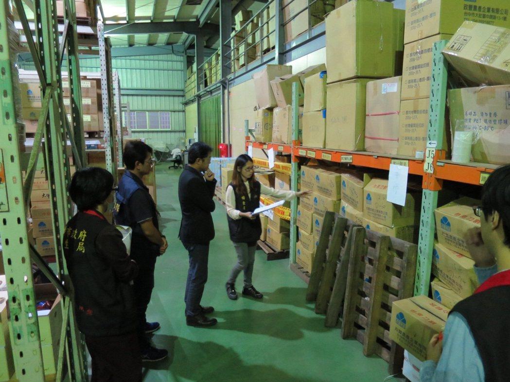 台中市政豐農產企業有限公司負責人廖英舒,為減少產品逾保存期限,或品質不良遭退貨,...
