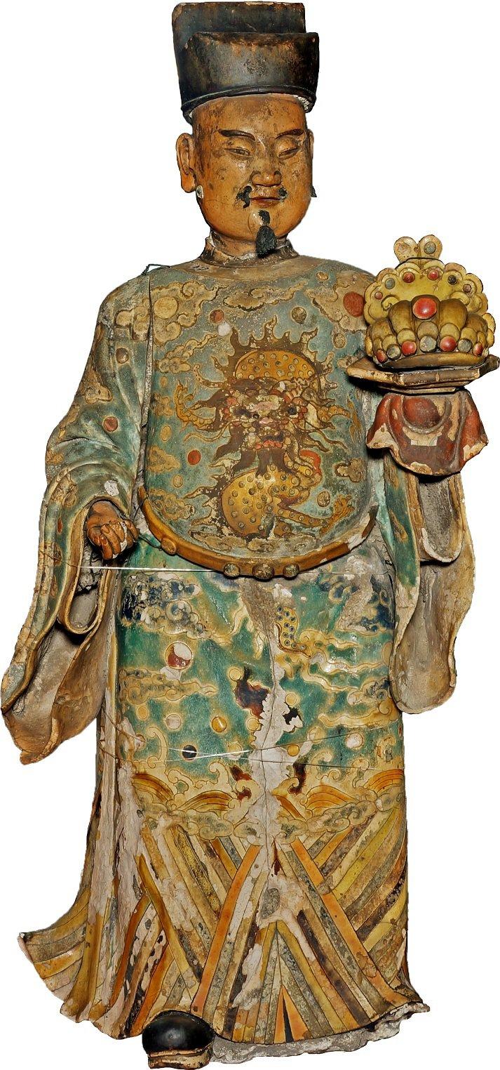 國寶交趾陶「加官」。圖/文資處提供