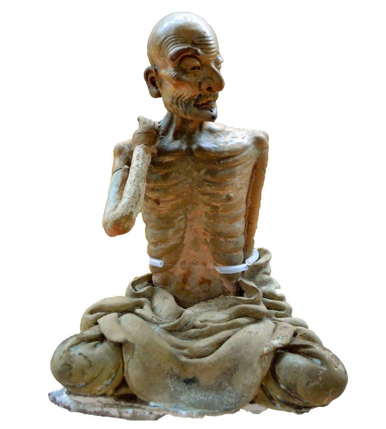 國寶交趾陶「瘦羅漢」。圖/文資處提供