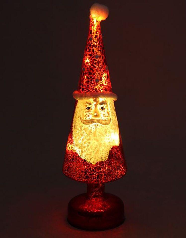 台隆手創館獨家推出LED耶誕老人玻璃耶誕樹,原價980元、特價686元。圖/台隆...