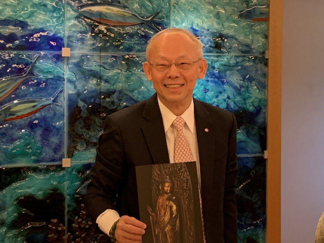 永豐金控首席經濟學家黃蔭基博士。記者沈婉玉/攝影