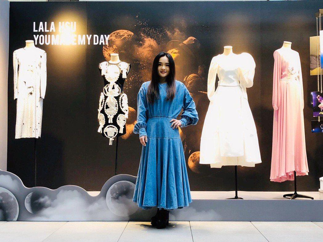 徐佳瑩將捐出服飾義賣。圖/亞神提供