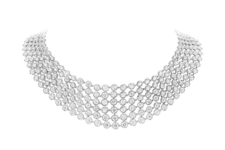 梵克雅寶,Diamond Breeze系列Palmyre項鍊,價格店洽。圖/梵克...