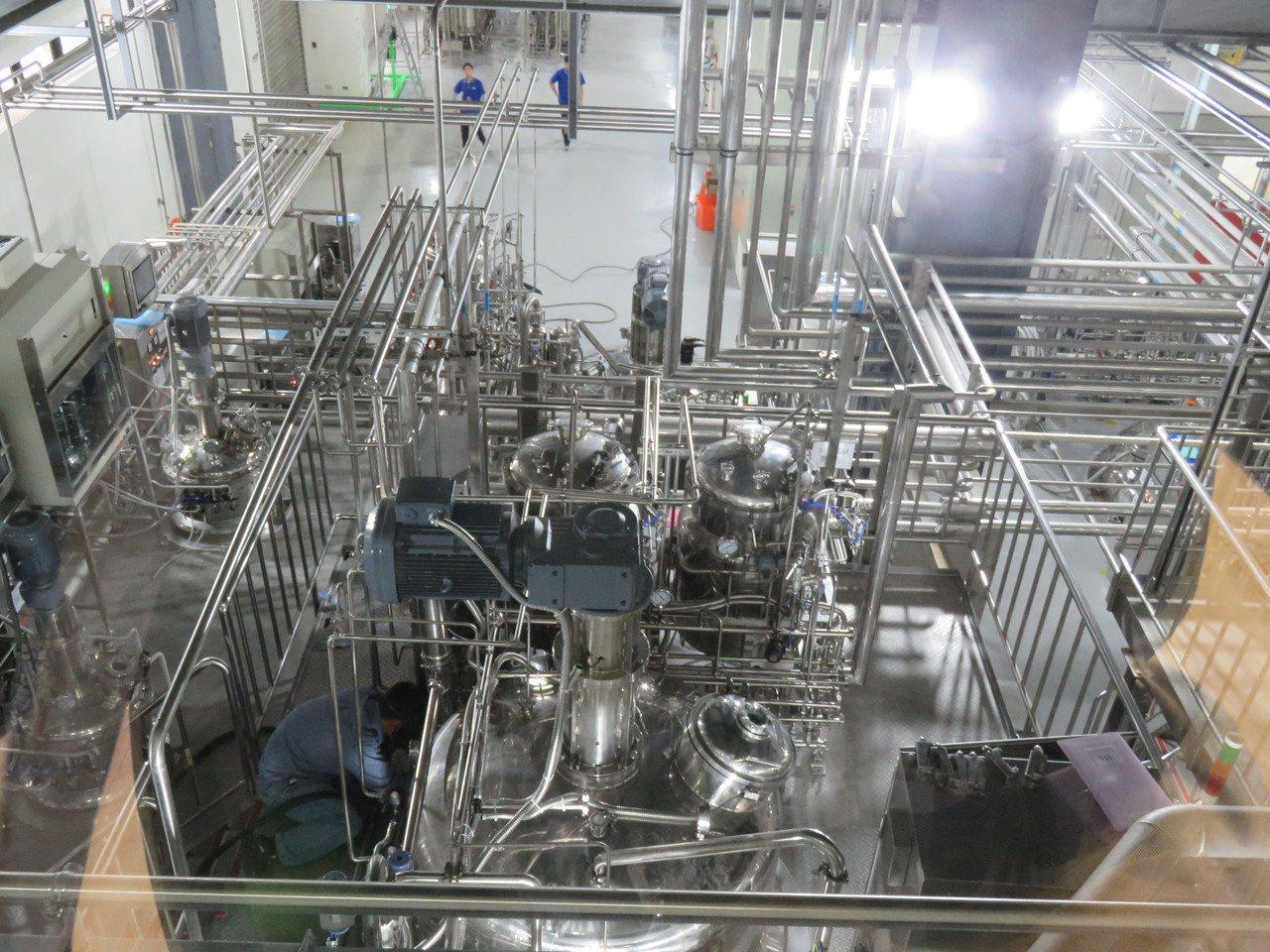 葡萄王生技龍潭生物科技研究所,今年正式營運啟用後,研發升級、產能到位,拓展事業版...