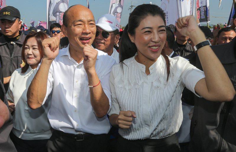 國民黨立委許淑華(右)與民進黨台北市議員許淑華同名。 聯合報系資料照/記者黃仲裕攝影