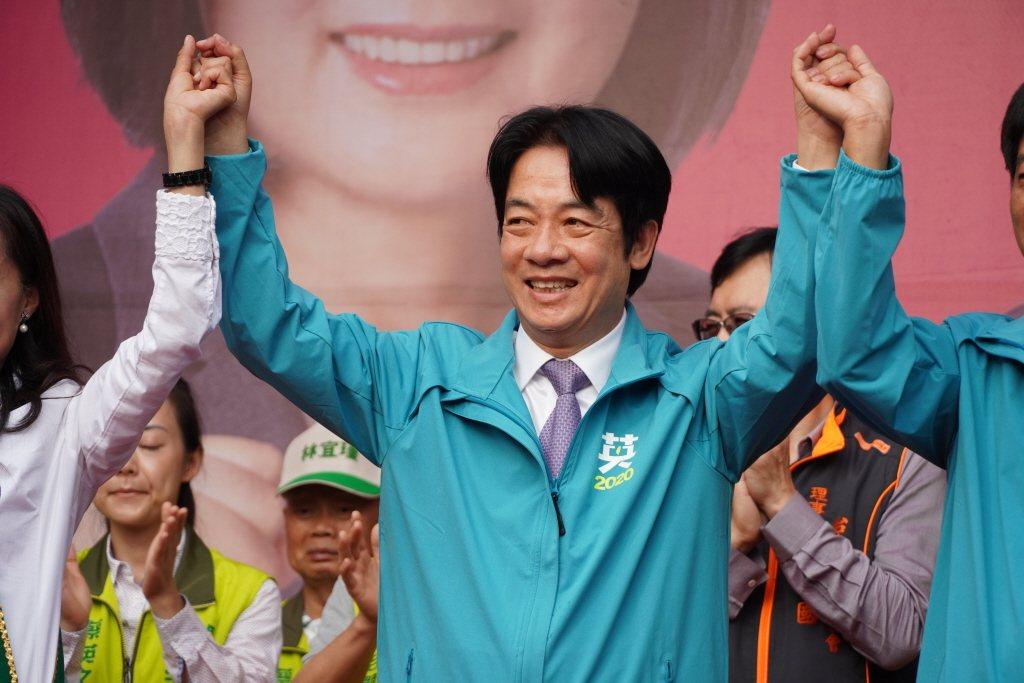 總統初選期間遭網軍霸凌的賴清德因楊蕙如案角色微妙。 圖/聯合報系資料照片