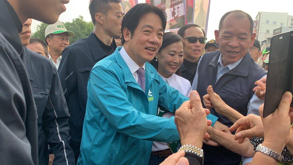 總統初選期間遭網軍霸凌的賴清德因楊蕙如案角色微妙。圖/聯合報系資料照片