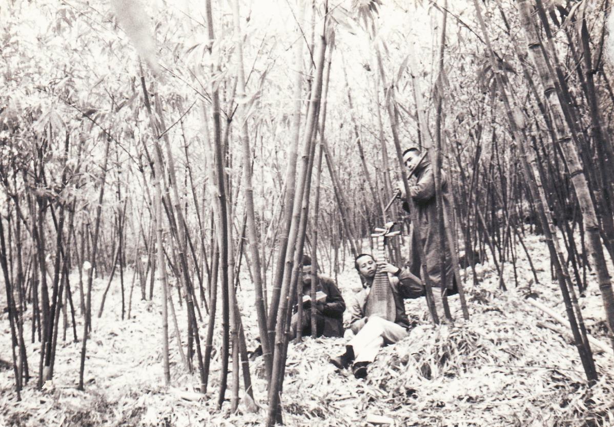 傳統文化的夢,就具體出現在對隱士高人如竹林七賢的追慕中。 圖/林谷芳提供