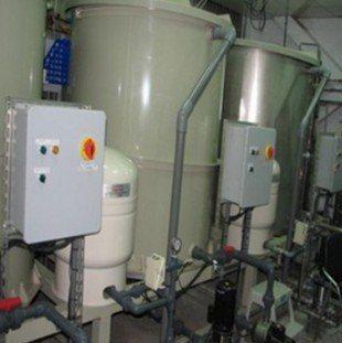 塑膠中心濾水器材實驗室。 塑膠中心/提供