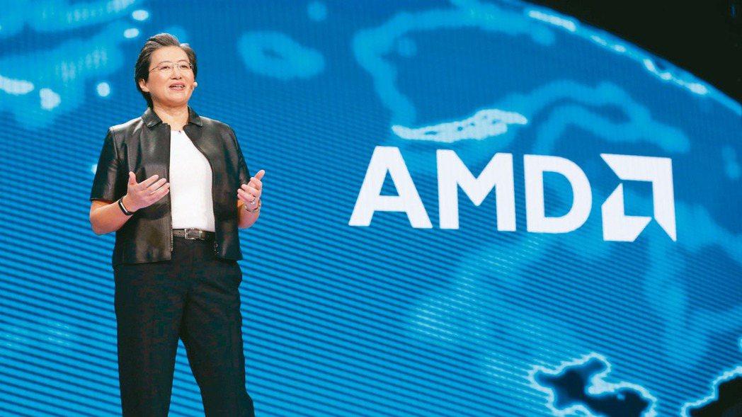 AMD執行長蘇姿丰。 路透