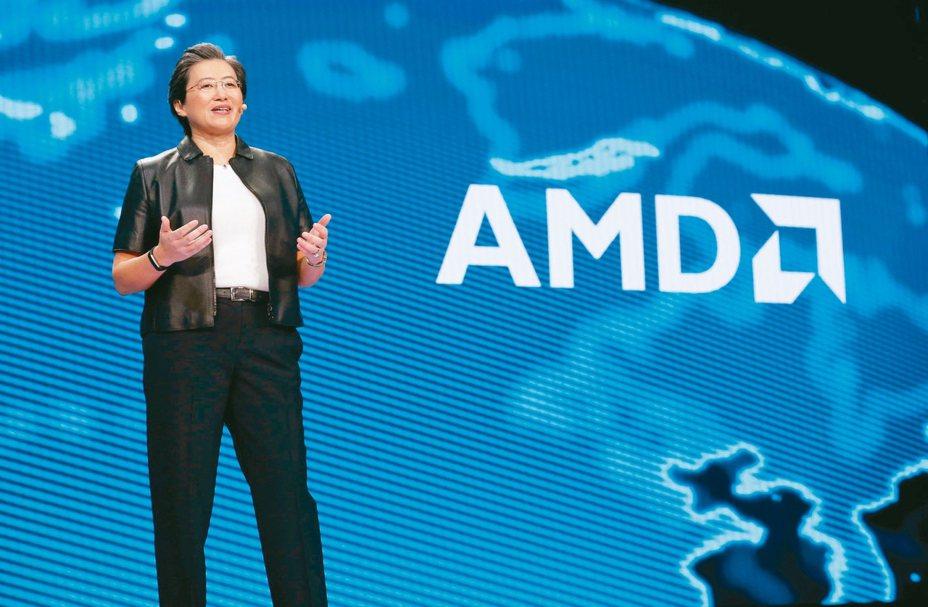 AMD執行長蘇姿丰入選今年「彭博50」重要人物。 路透