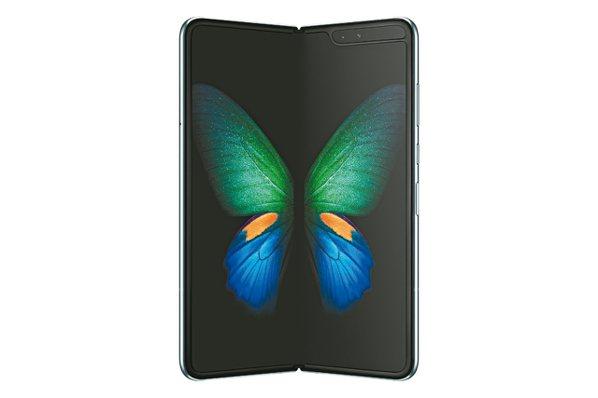 三星推出摺疊手機Galaxy Fold成市場話題,據韓媒報導,明年新品價格可望更親民。 圖/三星提供