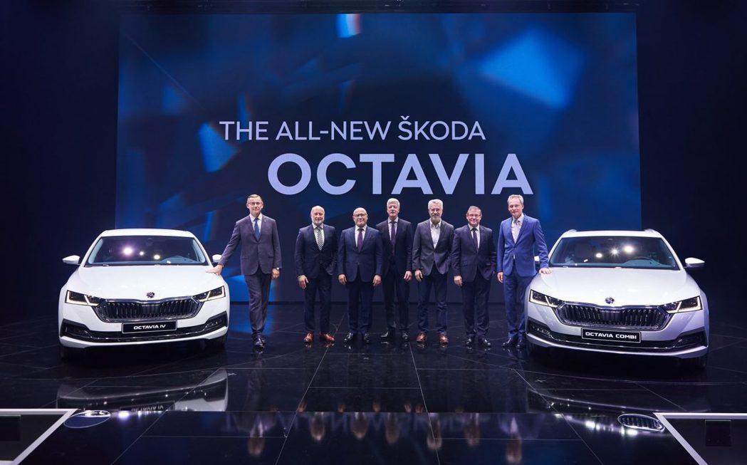 第四代ŠKODA Octavia在11月中正式發表。 摘自ŠKODA