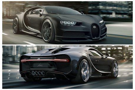 有錢人的黑色購物節!Bugatti推兩款純黑限量特仕車,售價破億元台幣