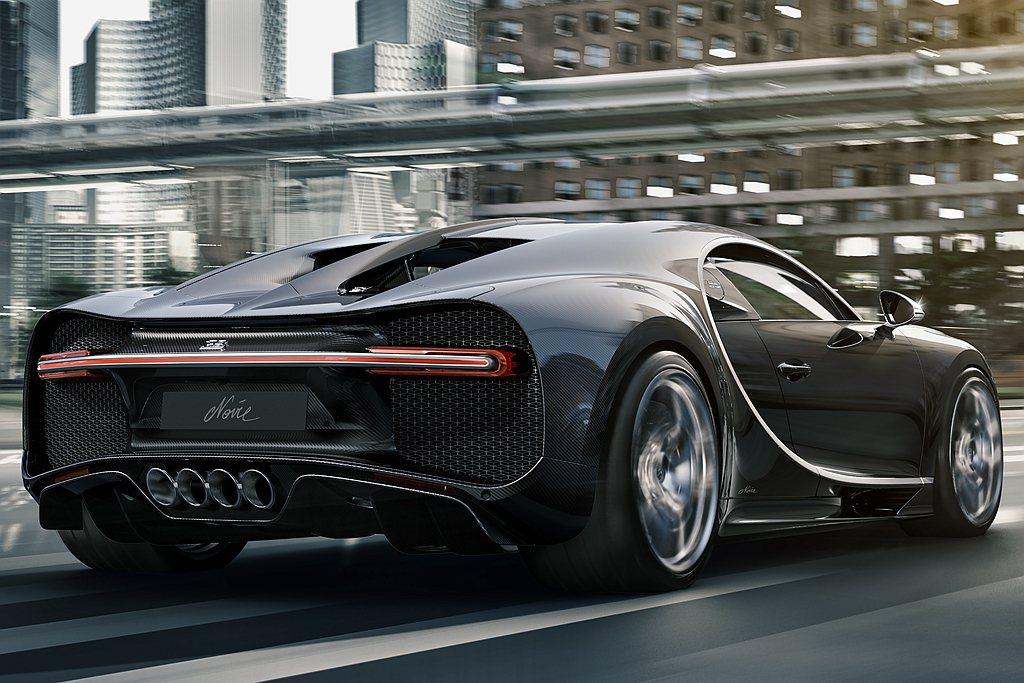 Bugatti Chiron Noire Elegance相同具有裸露碳纖維外觀...