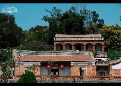 融合閩南合院與洋樓建築,是金門常見的聚落意象。 圖/敬土豆文化工作室提供