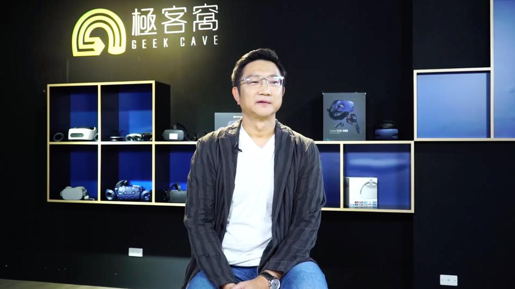 啟雲科技董事長暨執行長丘立全表示,啟雲科技以3D內容基礎結合AR技術,運用在除了...