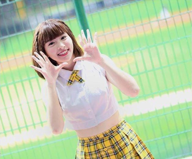 「中信兄弟」的啦啦隊成員峮峮擁有高人氣,在台灣及日本都有許多粉絲。圖取自/Ins...