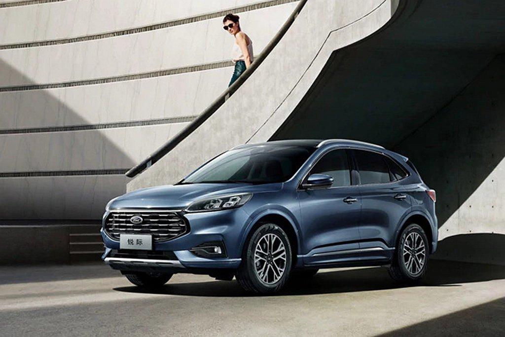 全新第四代Ford Escape即將在中國市場開賣,台灣目前仍未有相關訊息。 圖...