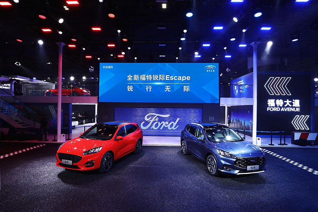 ord中國合資車廠長安福特宣布,全新Ford Escape(銳際)將於12月中開...