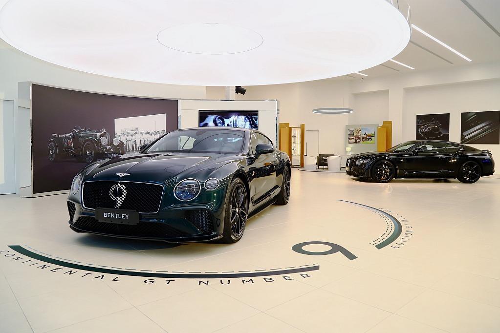 全球100輛、台灣搶得5輛!Bentley Continental GT Number 9售罄亮相