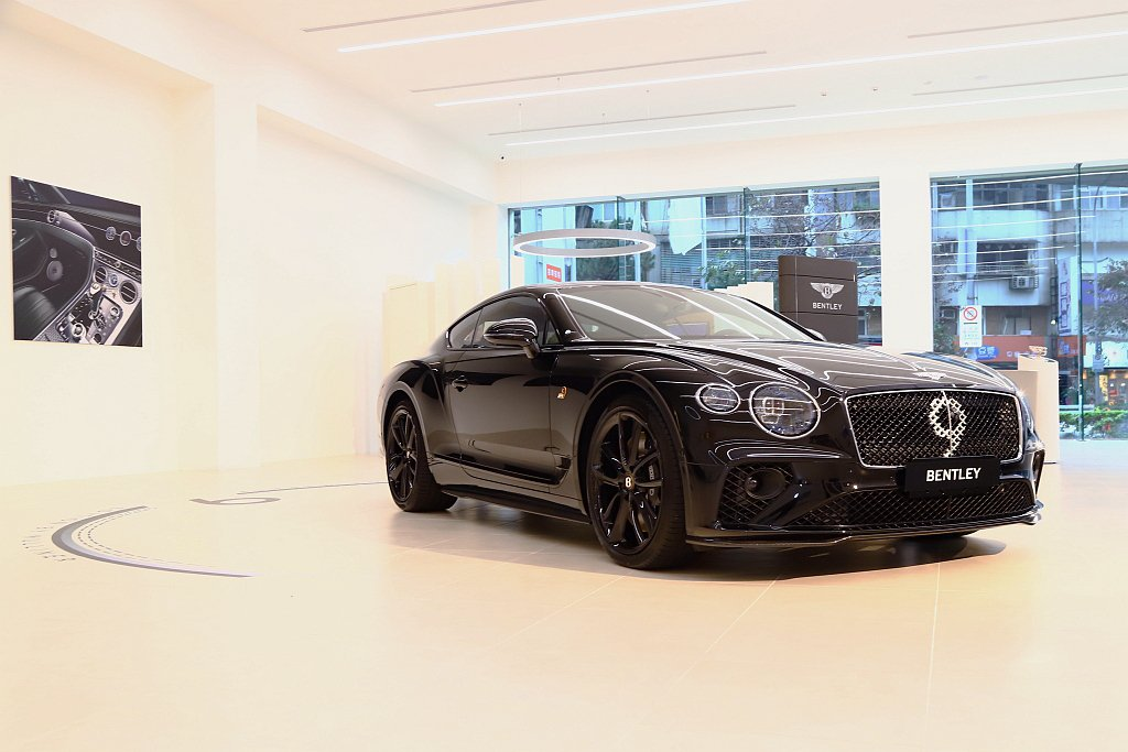 難得可見的Continental GT Number 9 Edition by ...