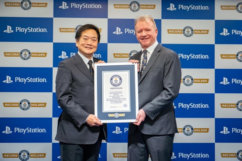 PlayStation 系列累積銷售記錄宣佈 25 周年遊戲獎