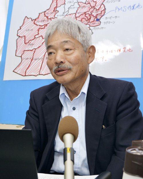 在阿富汗行醫超過卅年的日本醫師中村哲,四日遭槍手攻擊身亡。(路透)