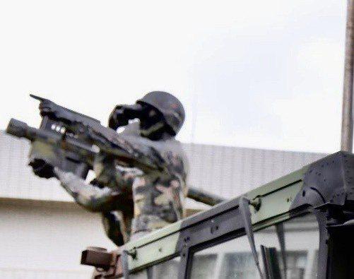 中華民國陸軍臉書粉專頁3日以「精準接戰 21砲指部防空營飛彈射擊訓練」為題,貼文...