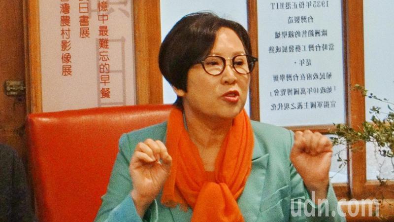 親民黨副總統參選人余湘強調台灣不能再讓藍綠廝裂了情感。記者蔡維斌/攝影