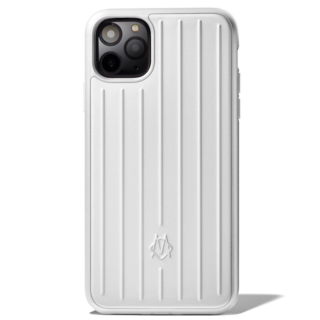 RIMOWA推出iPhone 11系列保護殼,鋁鎂合金款定價美金115元(約台幣...