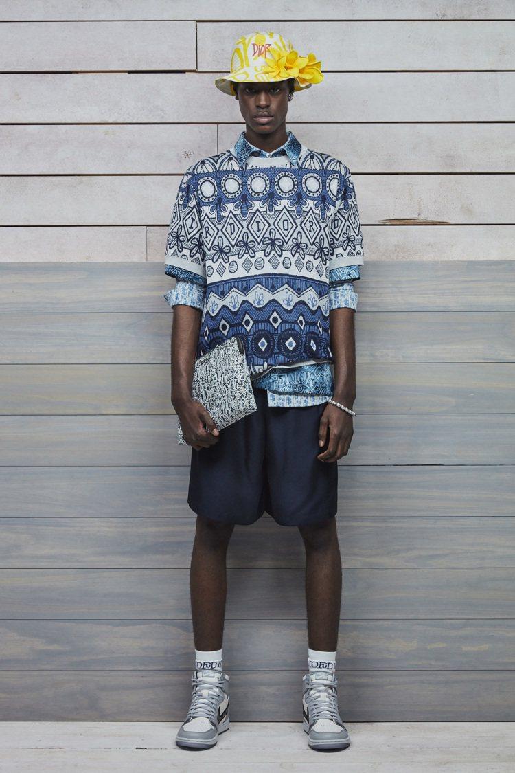 「Air Jordan I High OG Dior」將於明年4月限量開賣。圖/...