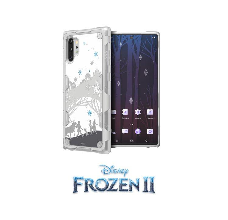 三星Galaxy Note10+冰雪奇緣2智慧背蓋,建議售價1,490元。圖/台...